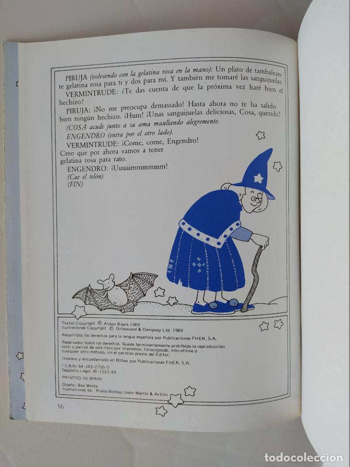 Coleccionismo Recortables: FHER. CORTA, COLOREA Y ARMA: BRUJAS - 1989 (CONTIENE EL TEATRO PARA MONTAR/PIEZAS YA RECORTADAS) - Foto 3 - 213724556