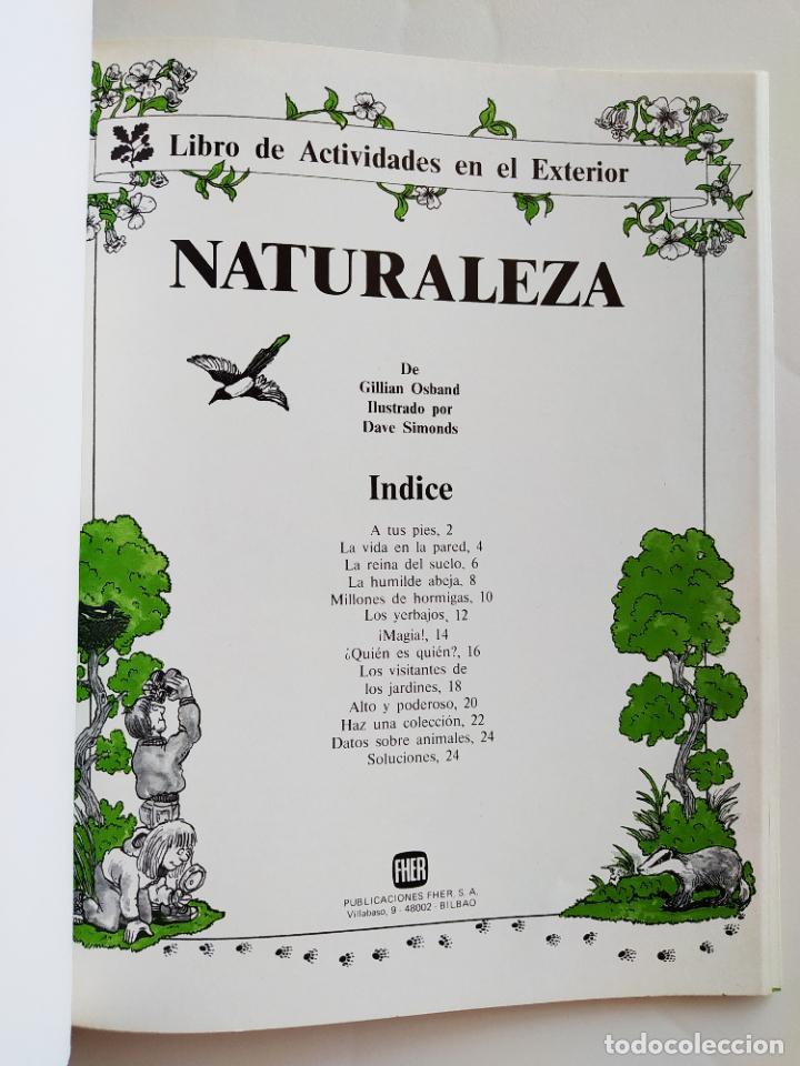 Coleccionismo Recortables: FHER. CORTA, COLOREA Y ARMA: NATURALEZA - 1988 (NO CONTIENE LA ESCENA RECORTABLE PARA MONTAR) - Foto 2 - 213724560
