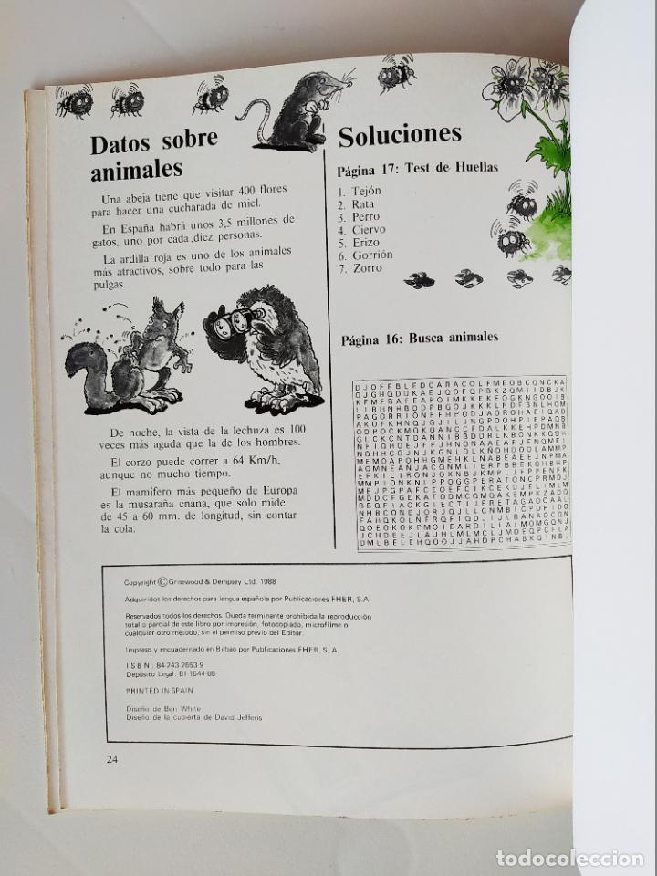 Coleccionismo Recortables: FHER. CORTA, COLOREA Y ARMA: NATURALEZA - 1988 (NO CONTIENE LA ESCENA RECORTABLE PARA MONTAR) - Foto 4 - 213724560