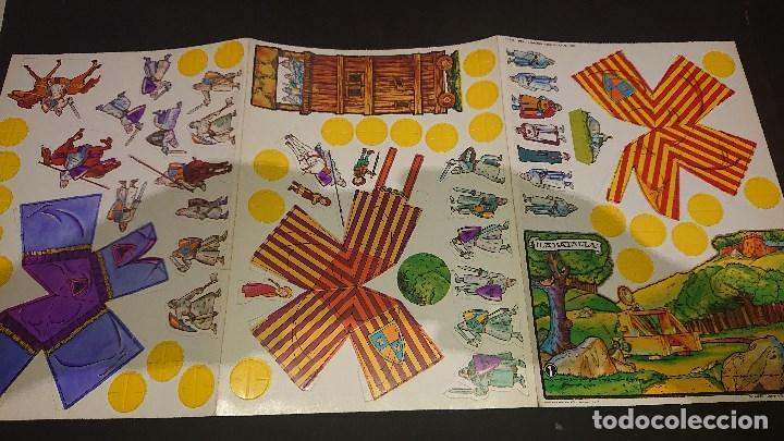 Coleccionismo Recortables: LOTE DE 3 RECORTABLES DE RUY EL PEUEÑO CID COMPLETAS DE DANONE1980 SIN USAR -, LEER DESCRIPCION - Foto 8 - 213757683