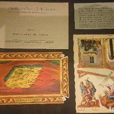 Coleccionismo Recortables: PEDESTALES BIBLICOS - Nº 2 NACIMIENTO DE CRISTO , EDICIONES BARSAL , LEER DESCRIPCION. Lote 213772893