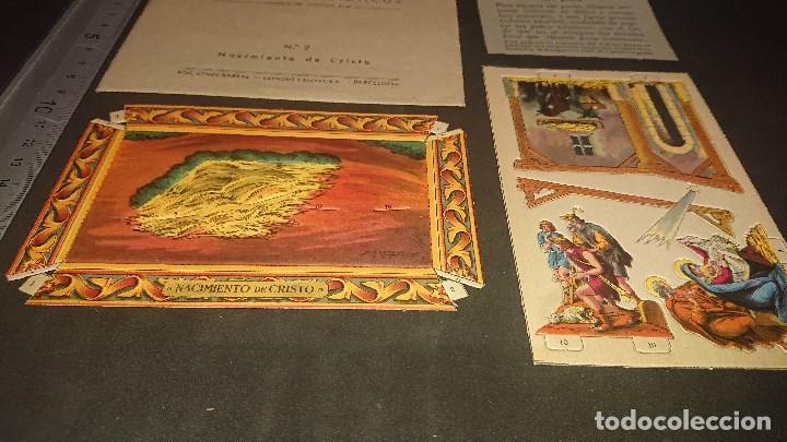 Coleccionismo Recortables: PEDESTALES BIBLICOS - Nº 2 NACIMIENTO DE CRISTO , EDICIONES BARSAL , LEER DESCRIPCION - Foto 2 - 213772893
