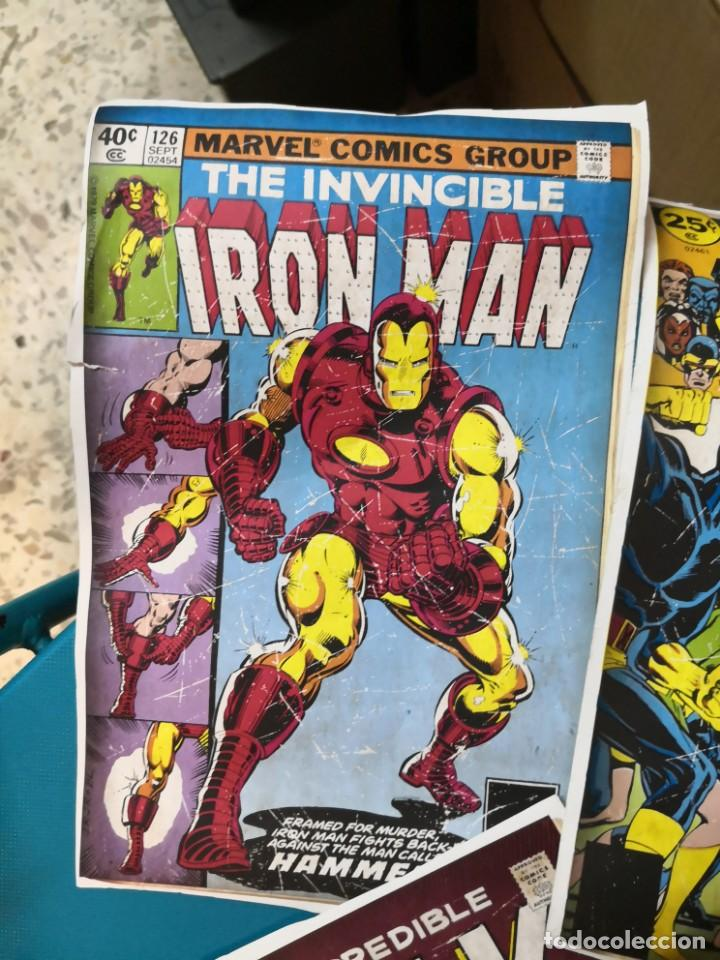 Coleccionismo Recortables: 4 recortables tipo csrtulina de portadas de comic - Foto 3 - 213825263