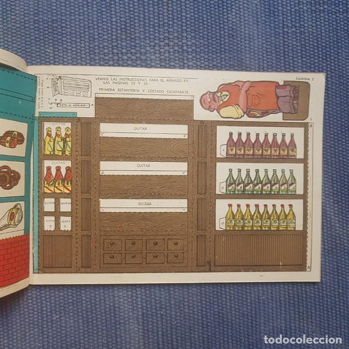 Coleccionismo Recortables: Dependiente Independiente. Tienda de comestibles bien surtida - Foto 2 - 214035166