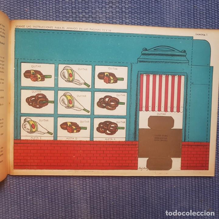 Coleccionismo Recortables: Dependiente Independiente. Tienda de comestibles bien surtida - Foto 3 - 214035166