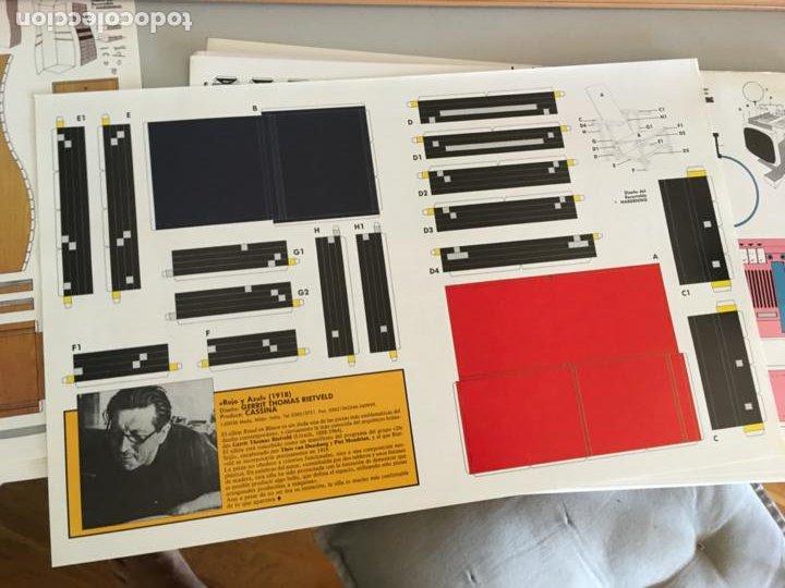 Coleccionismo Recortables: DISEÑOS RECORTABLES CARPETA 30 OBJETOS CLASICOS DISEÑO CONTEMPORANEO. DAVID SALVADOR HARDENING AB-1 - Foto 11 - 218440312
