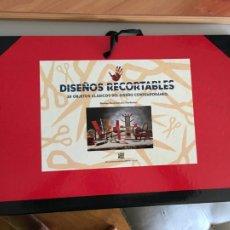 Coleccionismo Recortables: DISEÑOS RECORTABLES CARPETA 30 OBJETOS CLASICOS DISEÑO CONTEMPORANEO. DAVID SALVADOR HARDENING AB-1. Lote 218440312