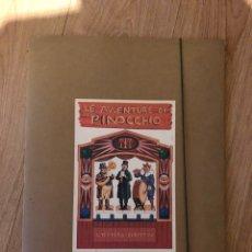 Coleccionismo Recortables: RECORTABLE TEATRO PINOCHO. LE AVVENTURE DI PINOCCHIO. IL TEATRO DEI BURATTINI. Lote 219115373
