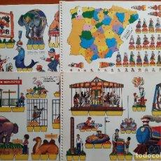 Coleccionismo Recortables: RECORTABLES KIKI - LOLO ESCENAS INFATILES 9 RECORTABLES - COLECCIÓN COMPLETA. Lote 219199800
