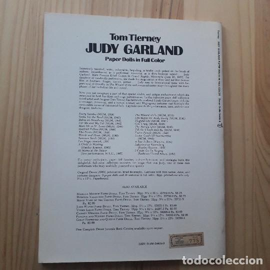 Coleccionismo Recortables: Judy Garland Paper Dolls in Full Colour - Tom Tierney - Foto 2 - 220977245