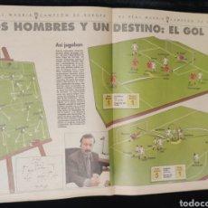 Coleccionismo Recortables: RECORTE,PERIODICO ABC. DOS HOMBRES Y UN DESTINO: EL GOL.. Lote 222647967