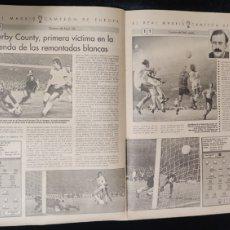 Coleccionismo Recortables: RECORTE. EL REAL MADRID,CAMPEON DE EUROPA,PERIODICO ABC.. Lote 222648801