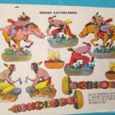 Coleccionismo Recortables: INDIOS AMERICANOS. Lote 223739397