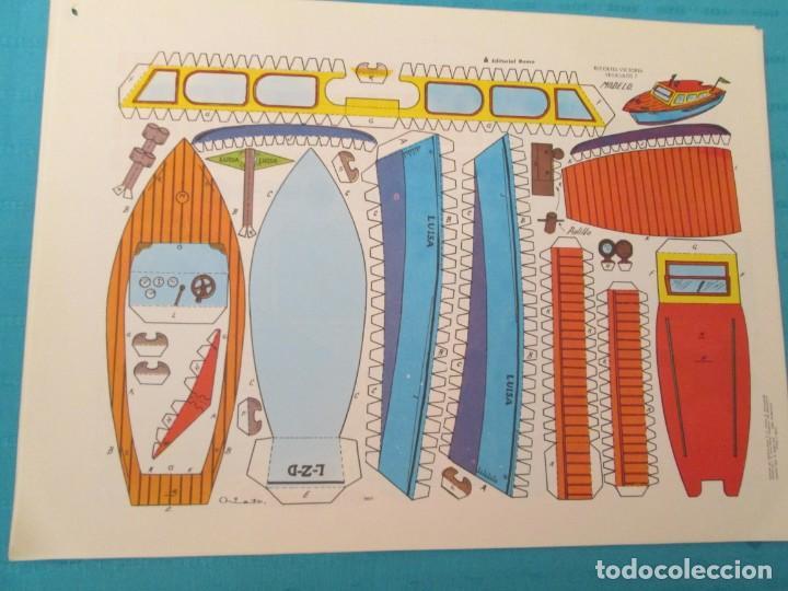 Coleccionismo Recortables: VEHICULOS RECORTES VICTORIA EDITORIAL ROMA - Foto 3 - 223774028
