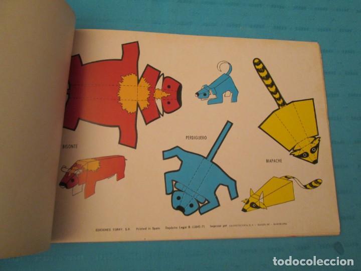 Coleccionismo Recortables: ANIMALES TORAY COMPLETA - Foto 2 - 223775258