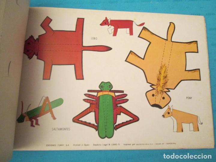 Coleccionismo Recortables: ANIMALES TORAY COMPLETA - Foto 3 - 223775258