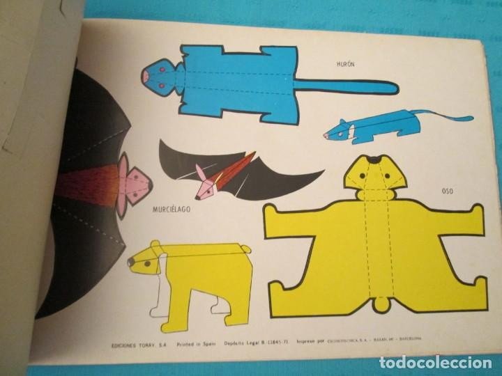 Coleccionismo Recortables: ANIMALES TORAY COMPLETA - Foto 4 - 223775258