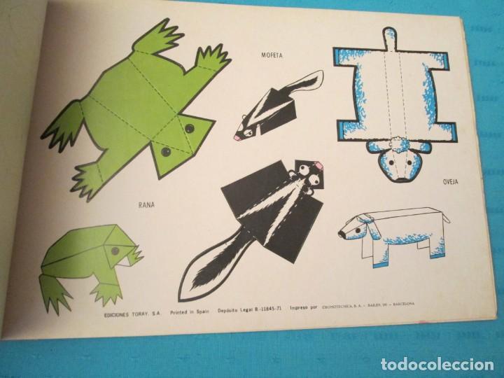 Coleccionismo Recortables: ANIMALES TORAY COMPLETA - Foto 5 - 223775258