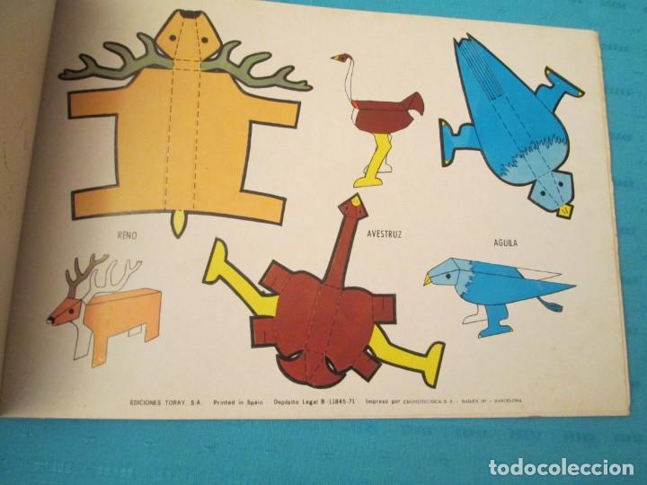Coleccionismo Recortables: ANIMALES TORAY COMPLETA - Foto 7 - 223775258
