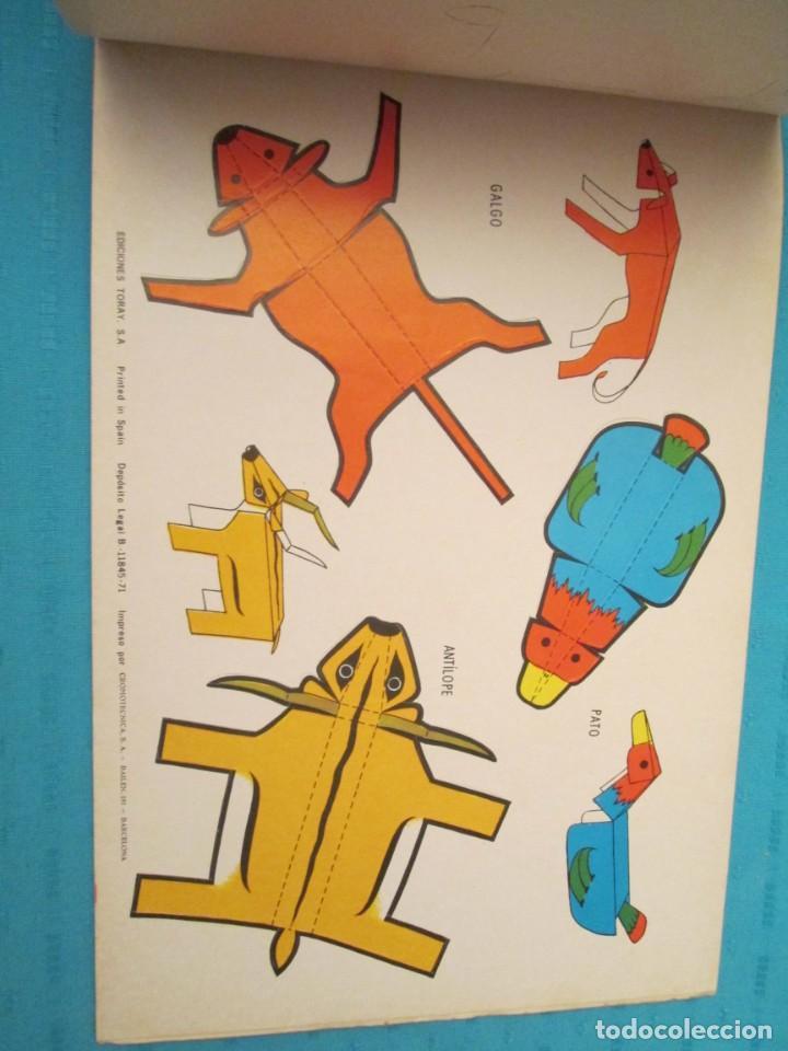 Coleccionismo Recortables: ANIMALES TORAY COMPLETA - Foto 8 - 223775258