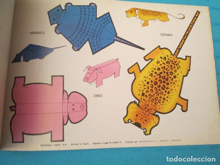 Coleccionismo Recortables: ANIMALES TORAY COMPLETA - Foto 9 - 223775258