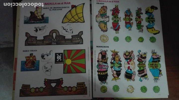 Coleccionismo Recortables: Asterix y Obelix II Batalla en el mar - Foto 5 - 223957890