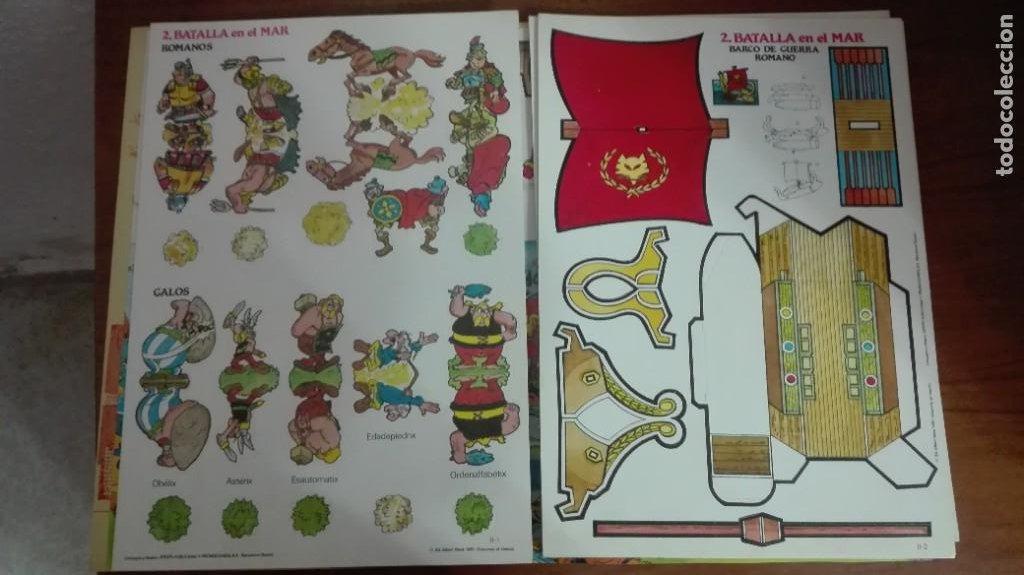Coleccionismo Recortables: Asterix y Obelix II Batalla en el mar - Foto 4 - 223957890
