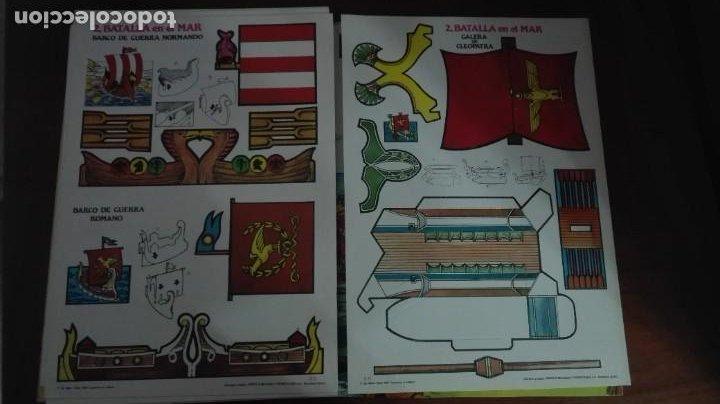 Coleccionismo Recortables: Asterix y Obelix II Batalla en el mar - Foto 6 - 223957890
