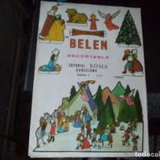 Collectionnisme Images à Découper: RECORTABLE BELEN .EDITORIAL ROMA.. Lote 224074848