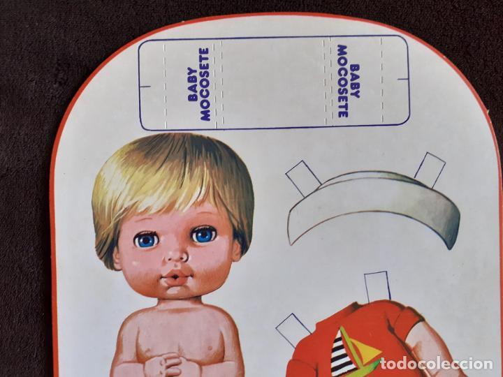 Coleccionismo Recortables: BABY MOCOSETE. PLAYA. RECORTABLE. - Foto 3 - 225544032