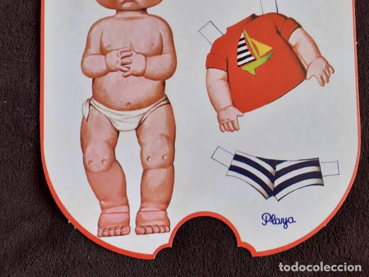 Coleccionismo Recortables: BABY MOCOSETE. PLAYA. RECORTABLE. - Foto 4 - 225544032