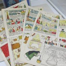 Collectionnisme Images à Découper: RECORTABLES EDICIONES TBO LOTE DE 4 UNIDADES COLECCIÓN MAGISTER. Lote 226394491
