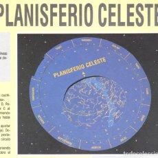 Coleccionismo Recortables: RECORTABLE PLANISFERIO CELESTE. RIALP 1990. Lote 232743071