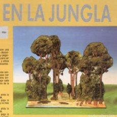 Coleccionismo Recortables: RECORTABLE VIDA EN LA JUNGLA RIALP 1990. Lote 232743610