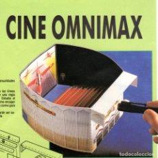 Coleccionismo Recortables: RECORTABLE CINE OMNIMAX. RIALP 1990. Lote 232745145