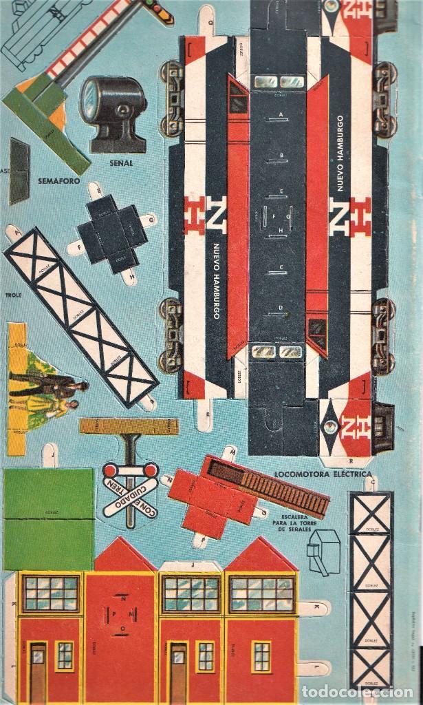 Coleccionismo Recortables: TRENES, LISTOS PARA ARMAR, RECORTABLE - ED. NOVARO MÉXICO - INGENIOSOS LIBROS DE ORO - Foto 2 - 240521125