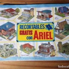 Coleccionismo Recortables: BLOC RECORTABLES GRATIS CON ARIEL COMPLETO. Lote 242054835