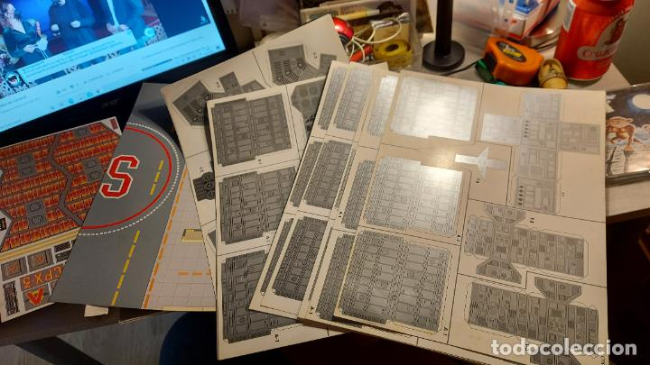 Coleccionismo Recortables: MAQUETA RECORTABLE DEL CPX-3 SPIGRAHF - Foto 3 - 243008040
