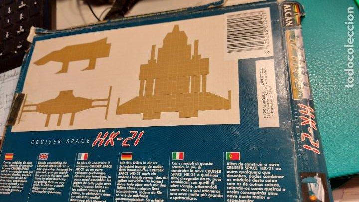 Coleccionismo Recortables: MAQUETA RECORTABLE DEL HK-21 CRUISER SPACE - Foto 2 - 243008630