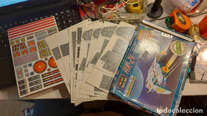 Coleccionismo Recortables: MAQUETA RECORTABLE DEL HK-21 CRUISER SPACE - Foto 4 - 243008630
