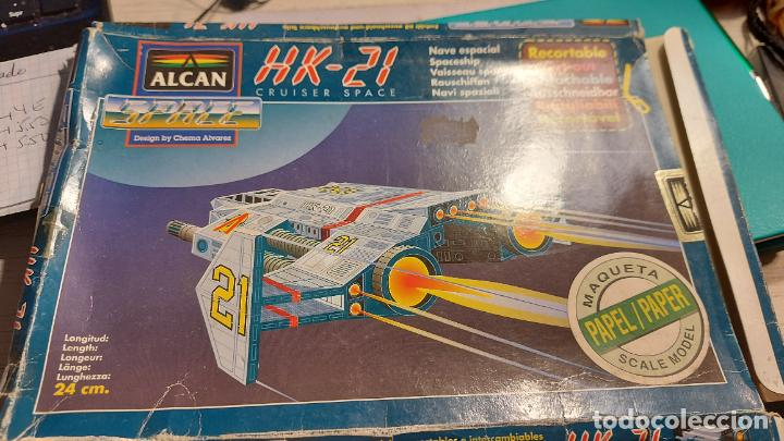 MAQUETA RECORTABLE DEL HK-21 CRUISER SPACE (Coleccionismo - Otros recortables)