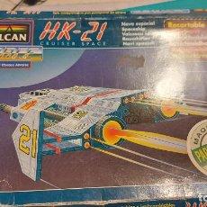 Coleccionismo Recortables: MAQUETA RECORTABLE DEL HK-21 CRUISER SPACE. Lote 243008630