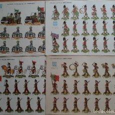 Coleccionismo Recortables: LOTE 11 RECORTABLES MILITARES DE PORTUGAL. Lote 258047990