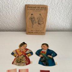 Coleccionismo Recortables: PAREJAS DE BAILE NÚMERO 2 - SALAMANTINOS - EL JUGUETE MÁS DIVERTIDO - EDICIONES BARSAL. Lote 245208145