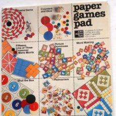 Coleccionismo Recortables: 14 JUEGOS DE PAPEL RECORTABLES. Lote 254513830