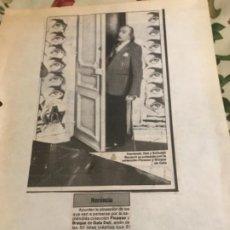 Coleccionismo Recortables: RECORTE 1982 DALI. Lote 254628905
