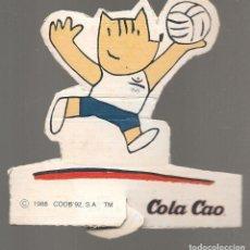 Coleccionismo Recortables: COBI´92. COLA CAO. (P/D51). Lote 255521950
