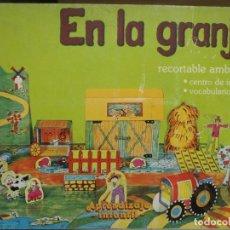 Coleccionismo Recortables: EN LA GRANJA - RECORTABLE AMBIENTAL - APRENDIZAJE INFANTIL Nº3 - ED. PABLO DEL RIO - 1980. Lote 259037535