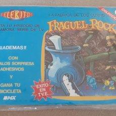 Colecionismo Recortáveis: TELEKITO KALKITOS FRAGUEL ROCK Nº 9 LA FABRICA DE LOS CURRIS NUEVO PRECINTADO. Lote 260490205