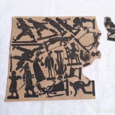 Coleccionismo Recortables: RECORTABLE EN CARTÓN DE SOMBRAS CHINESCAS.. Lote 261588205